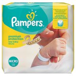 Pampers nappy's