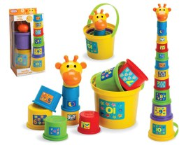 Gerry the giraffe Baby Stack Up Cups